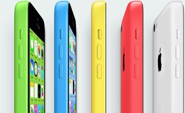 Apple's colourful new iPhones