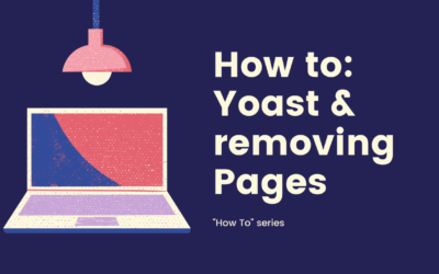 Using Yoast to hide certain pages from Google