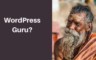 WordPress Guru?