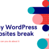 Why WordPress Websites Break