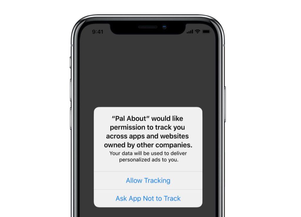 Fig. 2 - iOS 14 app privacy